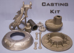 Stove Fan Casting Kit